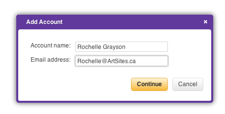 Yahoo Add Account Dialog Box 1